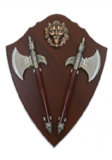 Lion Twin Axe Set